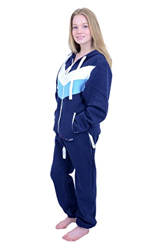 The Classic Unisex Onesie in Inky and WHT Sky Stripes - L - 4