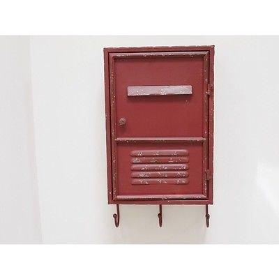 Industrie Schlüssel Schrank Aufbewahrung Wohnwand Shabby Distressed Vintage