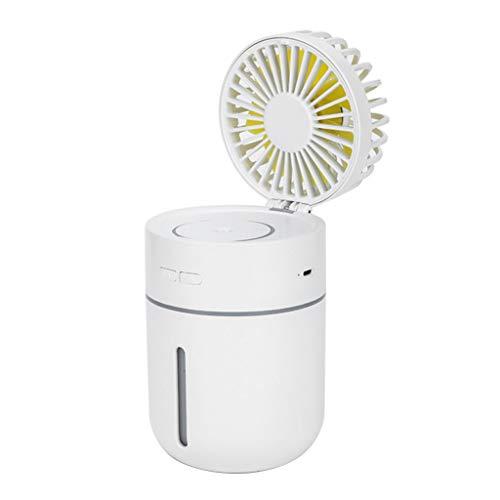 WINJEE, 2000mA Ventilador batería humidificador Aire