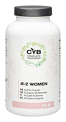 CYB A-Z Vitamins & Minerals for Women, 365 tablets from IVC Pragen GmbH