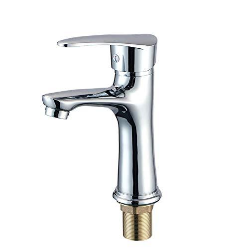 YWSZJ Wasserhahn Waschbecken-Griff Waschbecken Wasserhahn EIN Loch Deck Mount Toilette Mischbatterie Waschbecken Wasserhahn