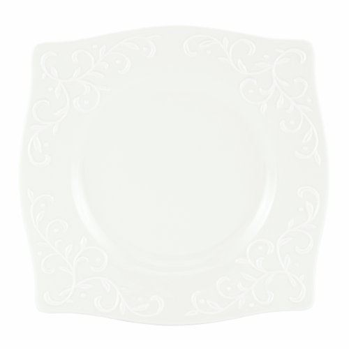 lenox-opal-innocence-carved-229cm-square-accent-plate
