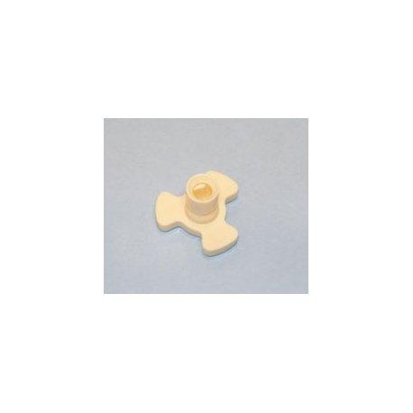 Adaptateur plat micro-onde axe 15 mm