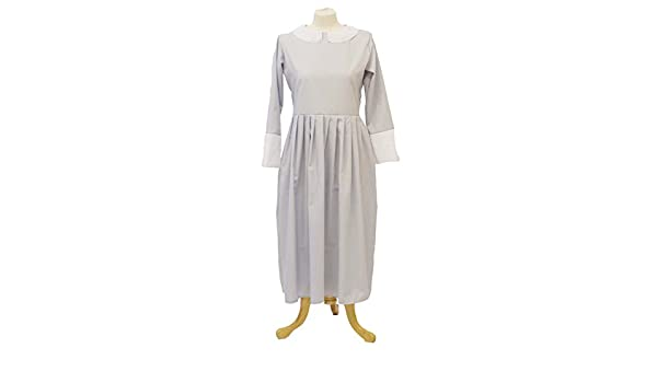 1940/'s-Wartime-Victorian-Girls Historical Grey Nanny//Governess Dress All Ages