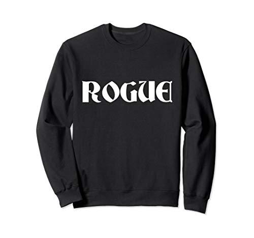 Schurken Kostüm Shirt - Rogue Schurke Lazy Halloween-Kostüm lustig Sweatshirt
