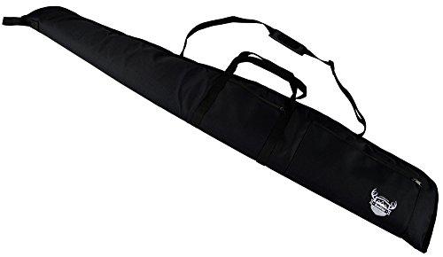 Rawstyle Waffentasche (Schwarz) Jagdtasche Waffenfutteral für Luftgewehr mit Fernrohr 135 cm *3 Designs* Gewehrfutteral Gun Case