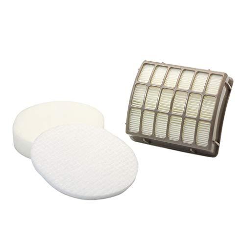 QHJ Filter und Haipa Für Shark Nv80 NV90 Uv420 Staubsauger Zubehör Filterelement Hepa Filter (Weiß)