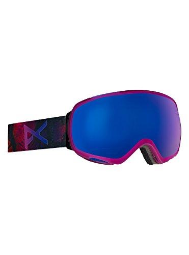 Anon Damen Tempest Snowboardbrille, Digi Tiki/Blue Cobalt, One Size