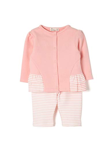 ZIPPY Zng0603_455_1, Ensemble Bébé Fille, Rose (Quartz Pink 788), 68 (Taille Fabricant: 3/6M)