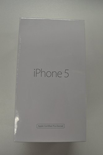 Apple iPhone 5 - Smartphone libre iOS  pantalla 4   c  mara 8 MP  32 GB  Dual-Core 1 3 GHz  1 GB RAM   negro - Restaurado
