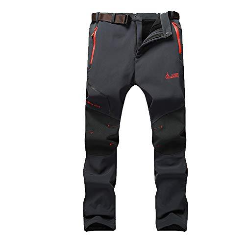 WANPUL Pantalon Softshell Hombre Pantalones Montaña