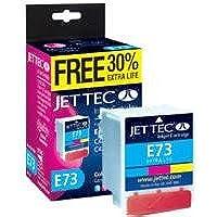 Jet Tec Ink Cartridge E73Extra Life 3Colour Ink Cartridge for Stylus C42/C44/C46