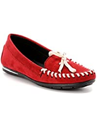 796e7c997d7 Amazon.in  Red - Loafers   Moccasins   Casual Shoes  Shoes   Handbags