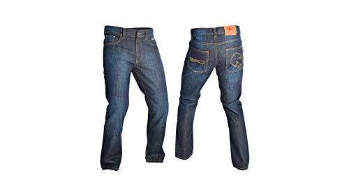 Oxford Super Sliderz SS2 Casual - Motorrad-Jeans mit Kevlar - Blau - W36 L33 -
