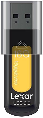 Lexar jumpdrive s57 16gb usb 3.0 flash drive ljds57-16gabeu, giallo