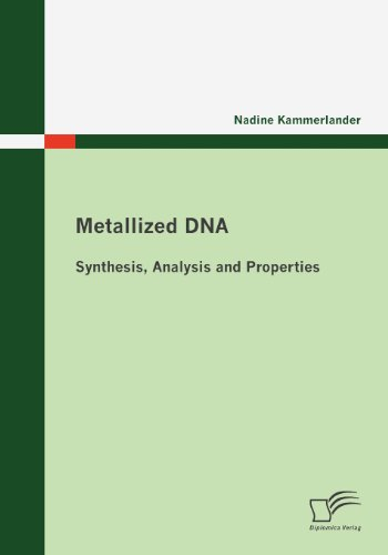 Metallized DNA: Synthesis, Analysis and Properties