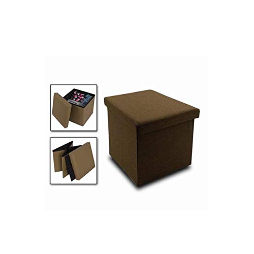 Cisne 2013, S.L. Puff baúl de almacenaje Cuadrado y Plegable multifun