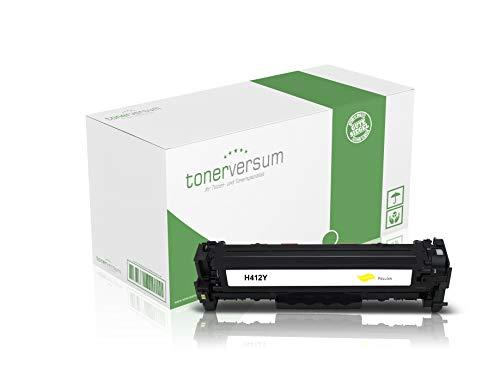 Toner kompatibel zu HP CF412X 410X Gelb für Color Laserjet Pro M452 M452dn M452nw MFP M477fdw M477fnw M377dw Laserdrucker CF412A