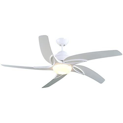 31E 5ml1fTL. SS500  - Fantasia Viper Ceiling Fan 54in White/Light/Remote