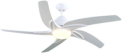 Fantasia Viper Ceiling Fan 54in White/Light/Remote