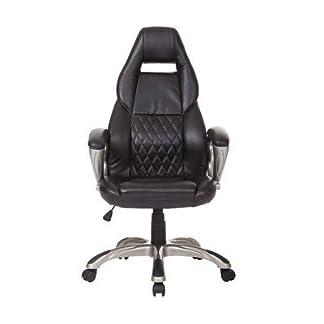 Homcom Racing Gaming deporte silla giratoria silla de escritorio de cuero ejecutiva silla de oficina PC de la computadora sillas altura ajustable sillón