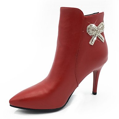 Women's Boots Fashion Boots Bootie Fall Winter Leatherette Party & Evening Dress...
