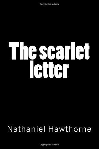 Hawthorne Collection: The scarlet letter por Nathaniel Hawthorne