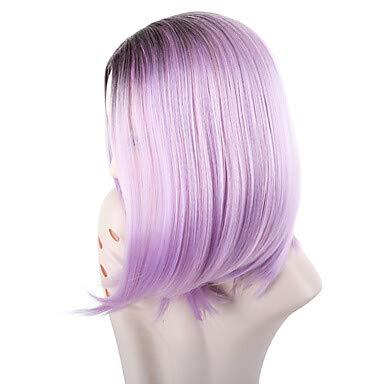 ZGL-peluca sintéticas Ondulado Estilo Corte Bob Sin