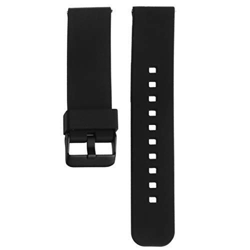 Baodanjiayou per Moto 360Watch Band 22mm Silicone Watch Band Cinturino da Polso per Motorola Moto 3602nd Smart Watch