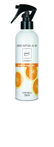 Orange Spray Duft (ipuro ESSENTIALS Raumspray orange sky, 1er Pack (1 x 250 ml))