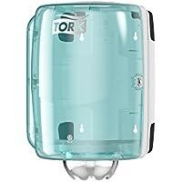 Tork Dispensador de alimentación central Performance / Soporte de papel mecha compatible con el sistema M2