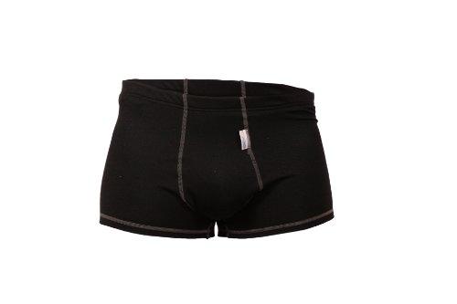 STANTEKS STANBT0035 XXL schwarz Boxershorts Funktionsunterwäsche Coolmax® Extreme Funktionsunterhose Unterhose Herren Thermounterwäsche (schwarz, XXL)