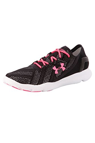 Under Armour UA W SpeedForm Apollo Vent, Damen Laufschuhe, Schwarz (BLK 003), 38 EU (Blk-training-schuhe)