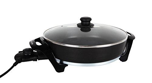 Orbegozo OL 4035 4035-Olla multifunción, diámetro de 35 cm, Negro