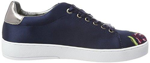 Bugatti Damen 421291056950 Sneaker Blau (Blue/ Multicolour)