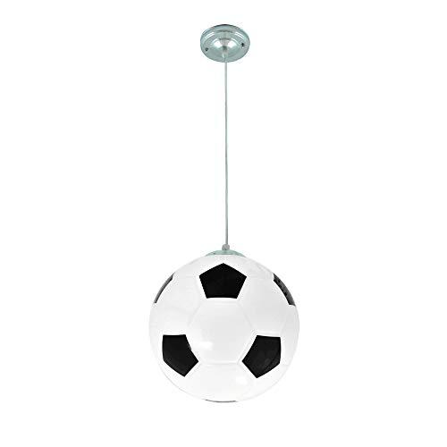Lámpara de techo con forma de balón de fútbol, E27, lámpara de ...