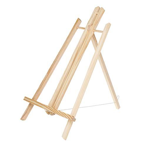 MYAMIA 50Cm Tischplatte Display Buchenholz Künstler Kunst Staffelei Handwerk Holz Bilderrahmen Ständer Halter