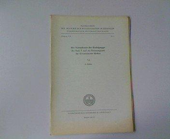 Der Normalisator der Modulgruppe der Stufe T und ein Trennungssatz für Eisensteinsche Reihen, in: Nachrichten der Akademie der Wissenschaften in Göttingen II. Mathematisch-Physikalische Klasse. Jahrgang 1971, Nr. 1.
