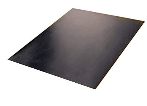 Protector para encimera de acero inoxidable (incluye tacos de goma antideslizante)