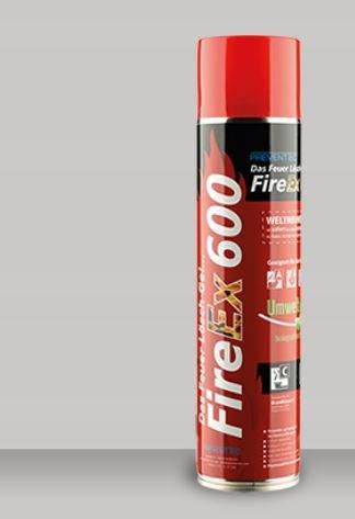 Prevento FireEx 600, das Feuer-Lösch-Gel, löscht in vielen Fällen effektiver als Wasser, Schaum & Pulver. WELTNEUHEIT - Schaum-anlagen