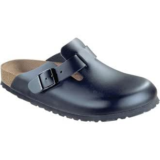 Birkenstock Boston Clog / Slip On Shoe Black - Size: Euro - 39 / UK - 6 - professional shoes for the hospitality and food industry