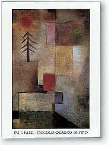 Toile 'Piccolo Quadro Di Pino' par Paul Klee - Taille de l'image L 33 cm x H 50 cm