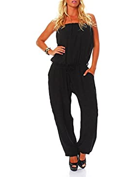 malito Jumpsuit Body Catsuit Playsuit Casual 4538 Mujer Talla Única