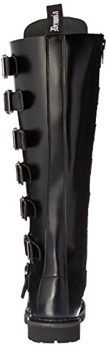 Demonia REAPER-30 Herren Gothic Stiefel Blk Leather