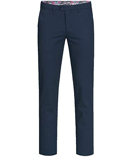 GREIFF Herren-Chino Corporate WEAR 1337 Casual Regular Fit - Marine - Gr. 60