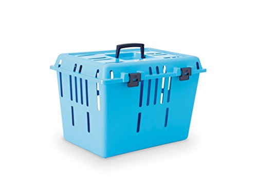 Nobby 72078 Transportbox Pet Caddy II, pacificblau oder grau (Sortiert)