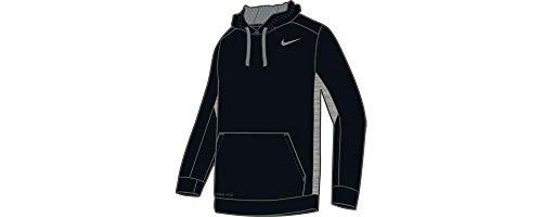 NIKE Herren Hoody KO 3.0, Black/Dark Grey Heather/Cool Grey, XL, 650733-010 (Element-sweatshirt Gestickt)