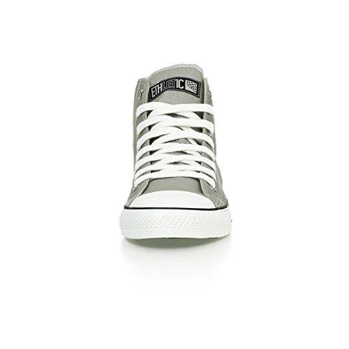 Ethletic Sneaker HiCut / High-Sneaker aus Bio-Baumwolle – urban grey / white – nachhaltig & fair - 6