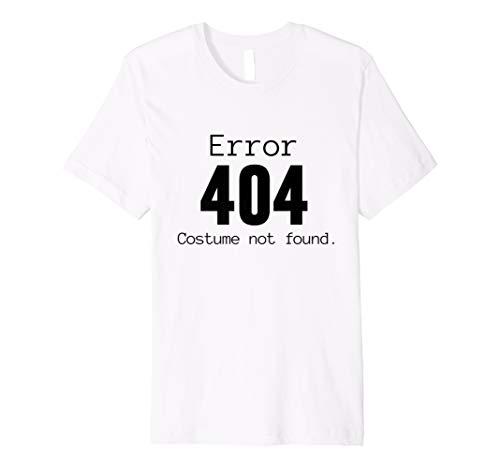 404Kostüm nicht gefunden, Halloween-Kostüm Shirt