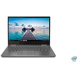 "Lenovo Yoga 730 - Ordenador portátil táctil convertíble 15,6"" FullHD (Intel Core i7-8550U, 8GB RAM, 512GB SSD, Nvidia GTX1050-4GB, Windows 10) Gris- Teclado QWERTY español"
